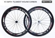 """SALE : Kinetic-One """"K1-50FW ULTIMATE"""" Carbon Wheelset"""